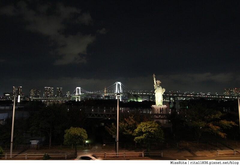 日本台場 鋼彈 彩虹大橋 自由女神 景點17