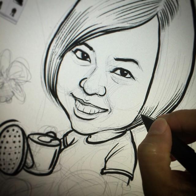 Sketching.....