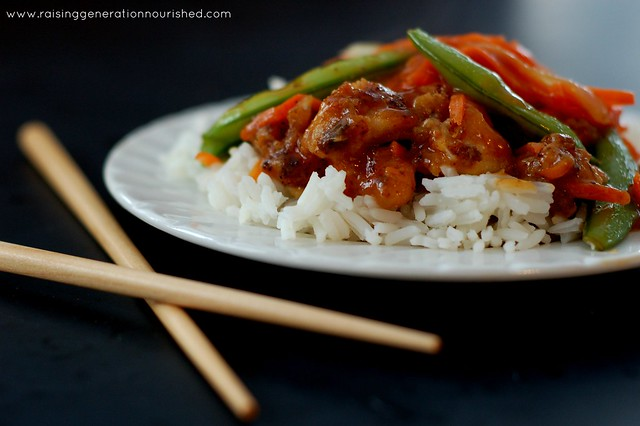 Simple & Quick Sweet & Sour Sauce