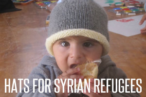 hats for syrian refugees