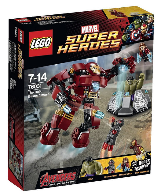76031 The Hulk Buster Smash