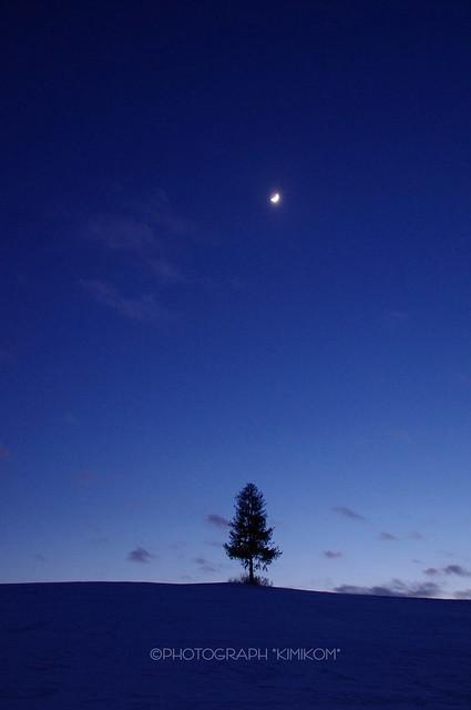 宵の三日月2