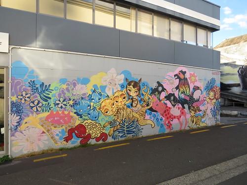 Streetart in Taupo