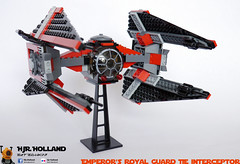 Emperors Royal Guard TIE interceptor 01