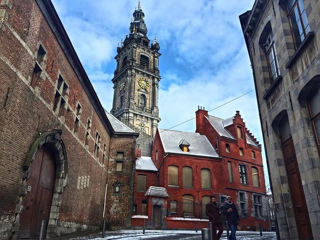 Rue des clercs de Mons (Valonia, Bélgica)