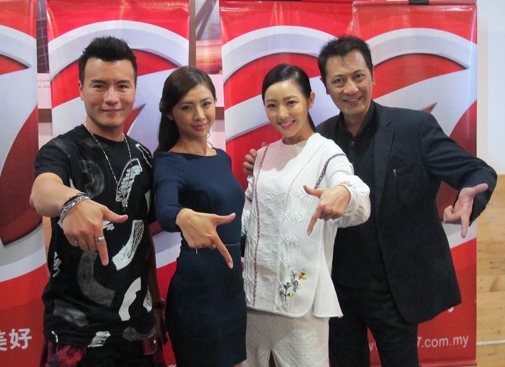 The Precedents Media Group Interview L-R Frederick Lee, Wayne Chua, Jojo Goh, Laurens Teo