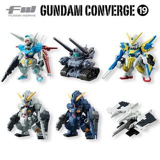 FW Gundam Converge 第19彈 盒玩