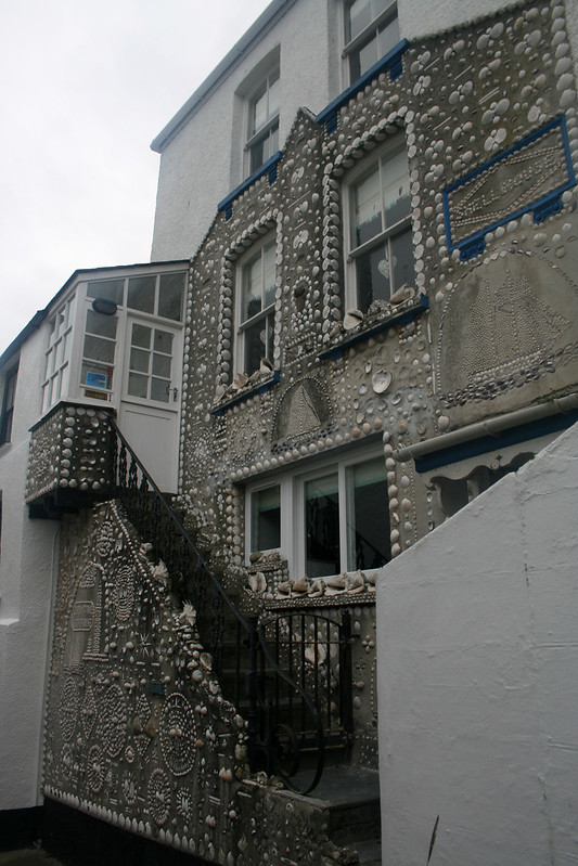 Shell house in Polperro