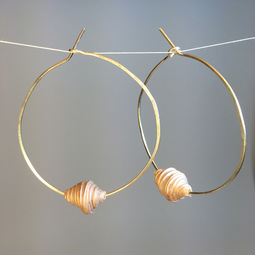 Chrysalis Hoops - VERSO Jewelry