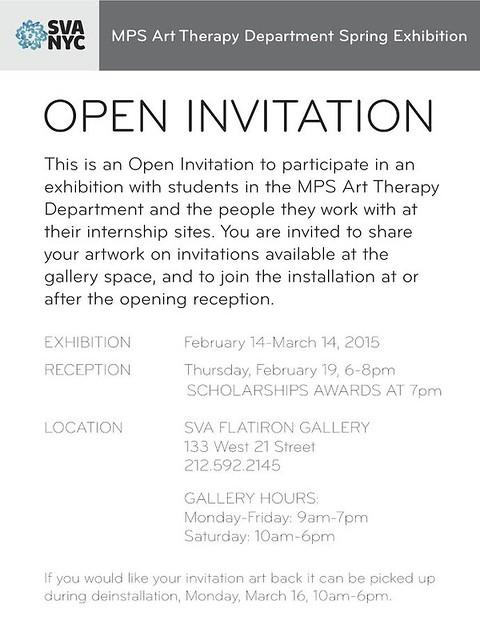 OPEN INVITATION MPS Art Therapy