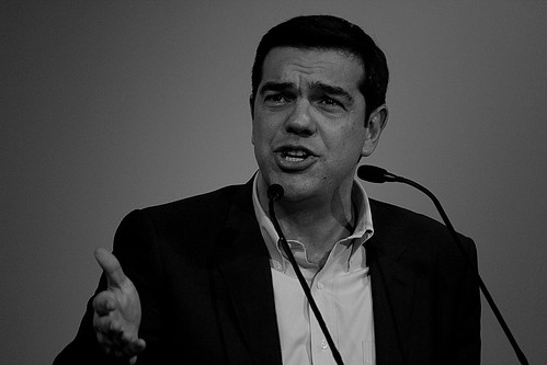 Alexis Tsipras - leader of Syriza