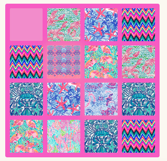 2048: Lilly Pulitzer Edition