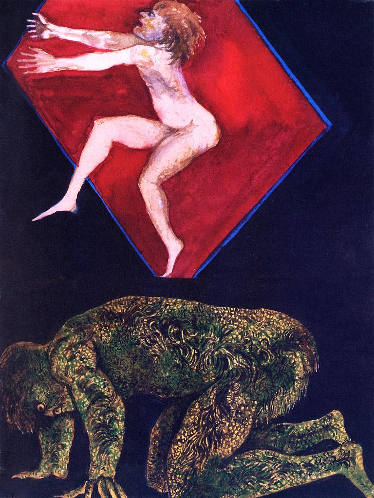 Leonard Baskin - Ariel And Caliban
