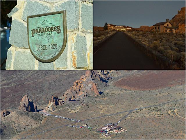 Parador de Canadas, Teide National Park, Tenerife Montage 4
