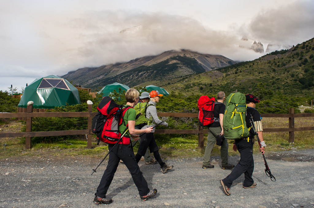Leaving EcoCamp Patagonia