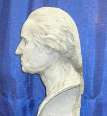 1932-Houdon bust in papier mache [SLT and Steve Hayden]-1