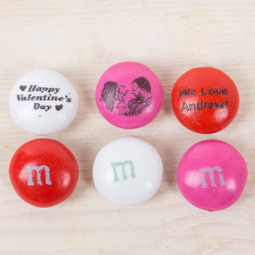 personalized mm valentine candy - Personalized Valentine Candy