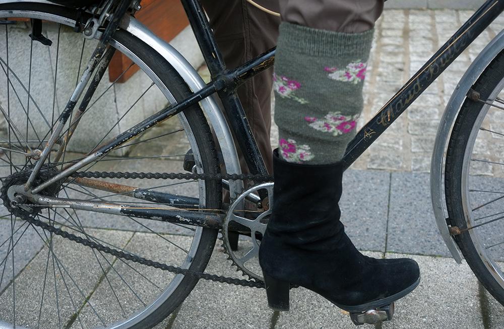 Trouser in Sock