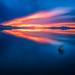 """Black Rock valentines day sunset by Scott Stringham """"Rustling Leaf Design"""""""
