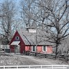 Chastain Horse Park Red Barn #chastainpark #barn #ATLANTA #atl #chastainhorsepark