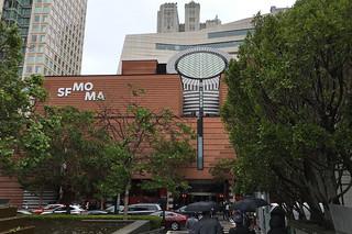 SF MoMA - Opening Mario Botta facade