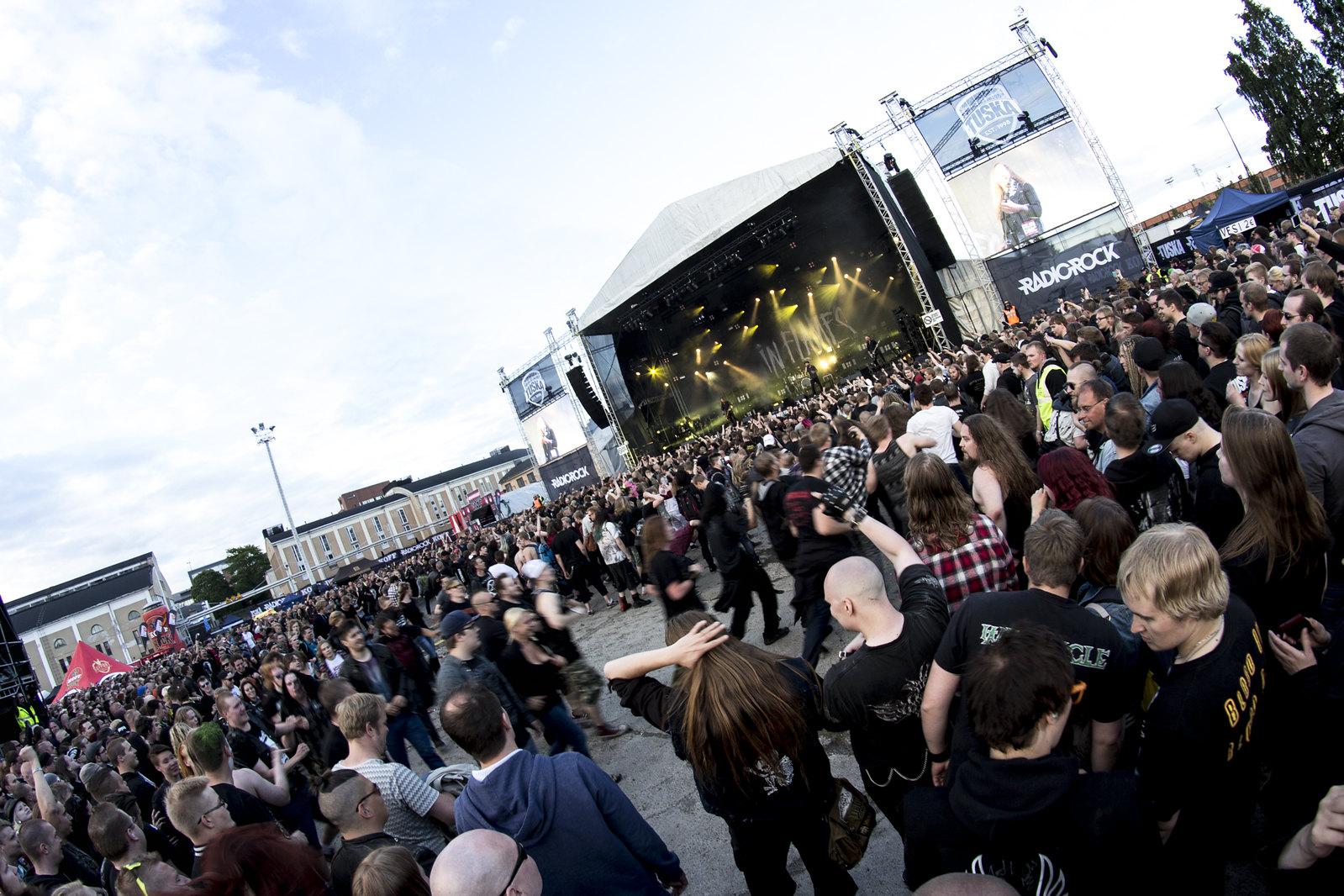 tuska open air metal festival, in flames in helsinki, tuska metal festival, tuska, finnish metal festival