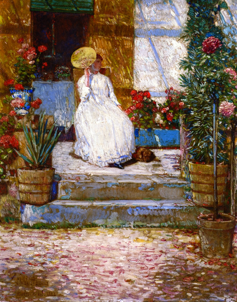 In the Sun by Frederick Childe Hassam - 1888