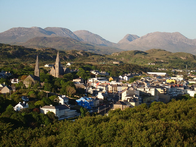 Clifden from Monument Hill