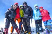 Gipfel Summit Putha Hiunchuli. Foto: Dr. Stephanie Geiger.
