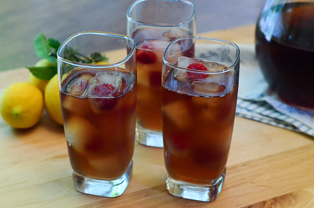 Three cups of Slow Melt Arnold Palmer.