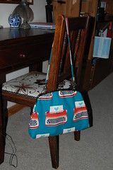 My funky handbag in Melody Miller Typewriters