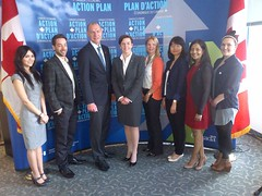 MP Dr. Leitch announces the creation of 36,000 jobs for Canadian youth through the Canada Summer Jobs initiative. Ottawa, May 9th, 2013.