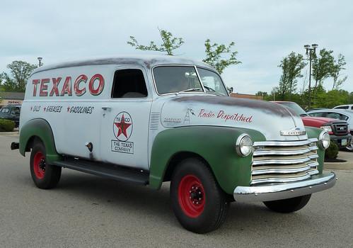 1947 (?) Advance Design Chevrolet Thriftmaster Panel Truck