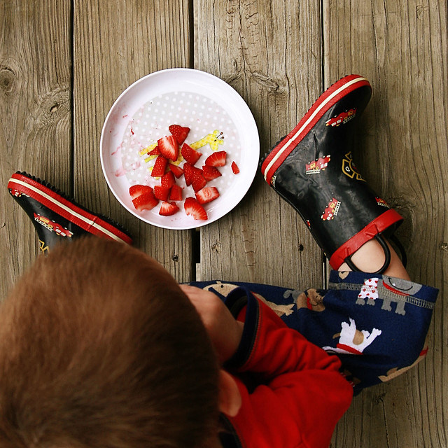 Boots and Strawberries