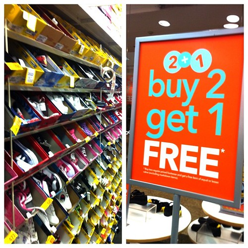 buy 2 get 1 free on all regular items at #payless perfect when shopping for school shoes for the kids!! @iloveglorietta @gloriettatweets #midnightmadnesssale #somoms