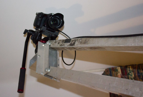 Homemade jib arm
