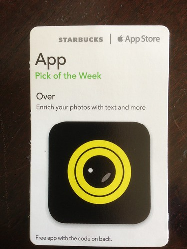 Starbucks iTunes Pick of the Wee - Over