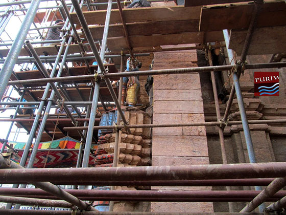 Jagannath Temple repair may not meet Rath Yatra date