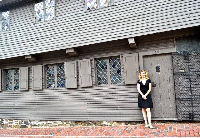 places to see in boston  - paul revere's house