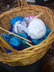 my yarn basket