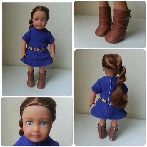 Mini Saige is too cute and I ♥ her boots! by Among the Dolls