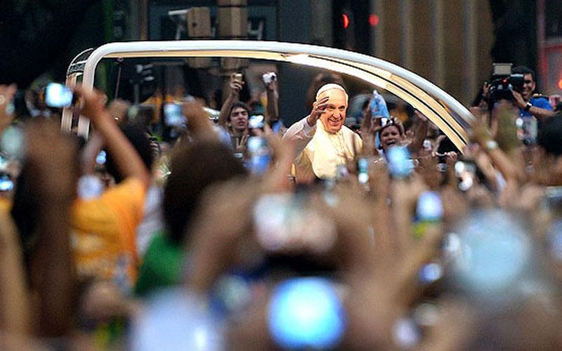 BRAZIL-POPE-WYD-FAITHFULS