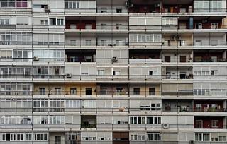 Colmena 2 de la M-30 / Complejo residencial del Parque Calero (Madrid)