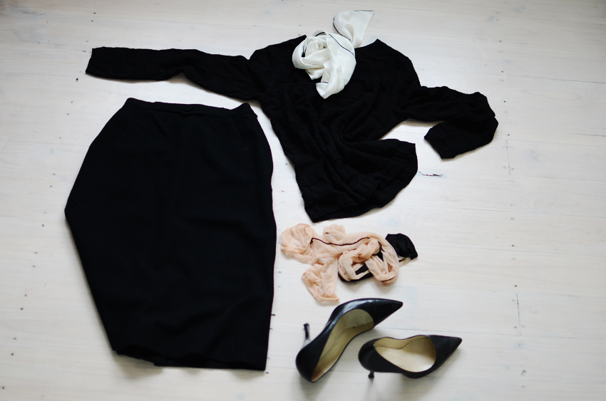 Black-white-outfit g