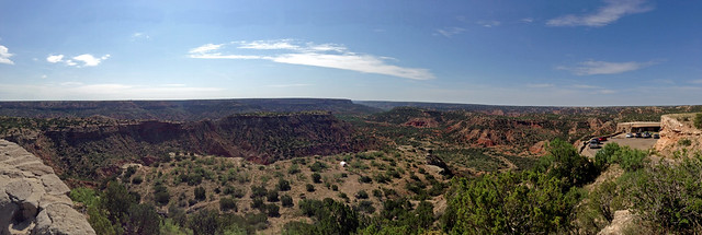 Palo Duro Panorama near the visitor center