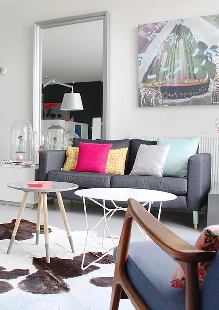 Funky Living Room Decor