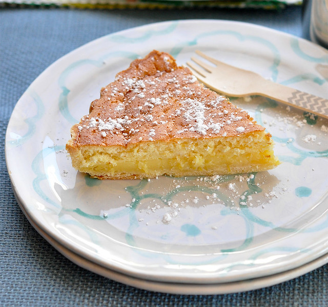 Warm Lemon Tart