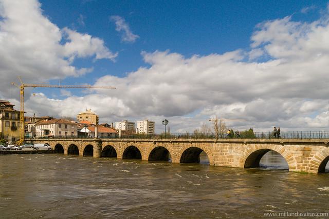 Puente de Trajano sobre Río Támega