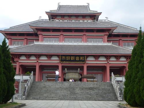 Yunnan13-Dali-3. Salle de cuivre et pluie (1)