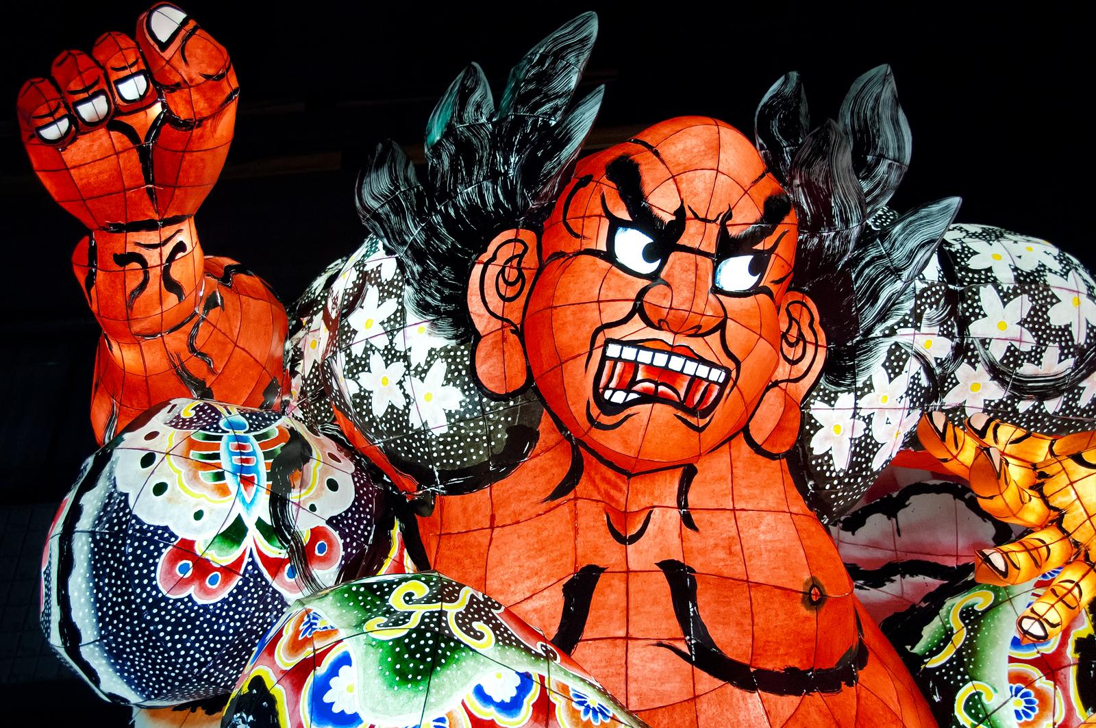 Japán utazás ünnepek, Nebuta Matsuri